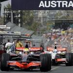 El circuito de Australia, Gran Premio de Melbourne