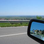 El ajuste de espejos, consejos de conducción