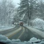 Conducir en carreteras con nieve y hielo
