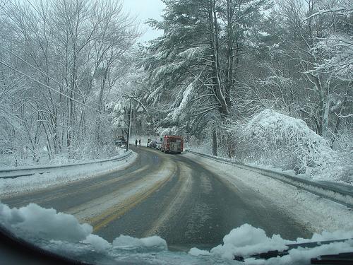 Carreteras con nieve y hielo