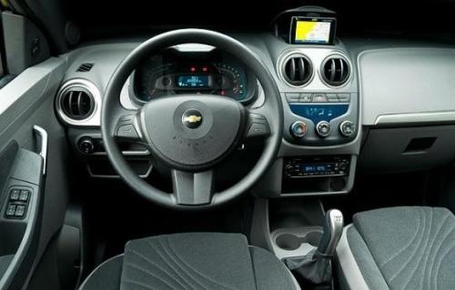 Interior Chevrolet Agile 2010
