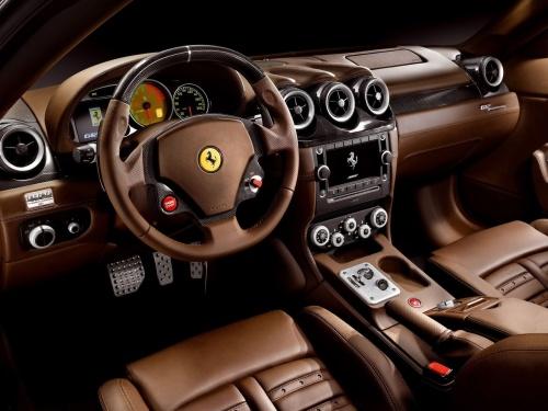Ferrari 612 Scaglietti interior