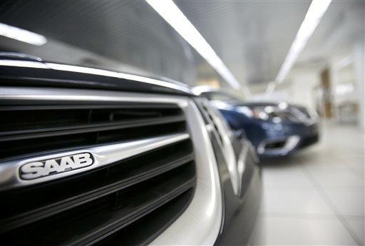 Un vehiculo Saab