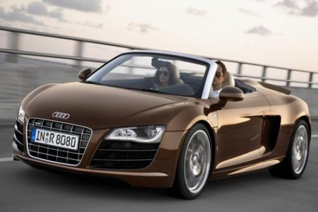 Audi R8 Spyder descapotable