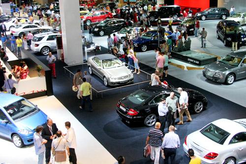Feria internacional del automovil