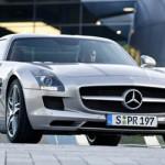 Mercedes Benz SLS AMG, alas de gaviota