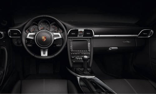 Porsche 911 Black Edition - Interior