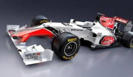Fotos del F111, nuevo coche de Hispania Racing