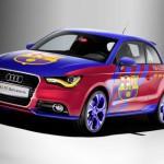 Motor y fútbol: Audi A1 FC Barcelona