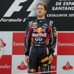 Vettel lidera la tabla tras el Grand Prix de Catalunya
