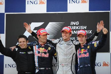 Sebastian Vettel, tras sus tres victorias en la F1