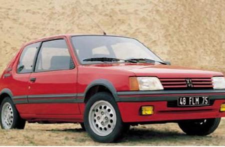 205, el modelo que salvó a Peugeot