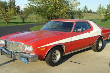 Ford Torino de 1975, el coche de Starsky y Hutch