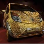 Tata Nano Goldplus, extravagancia de 3 millones