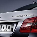 Lujo ecológico, Mercedes Clase E Hybrid