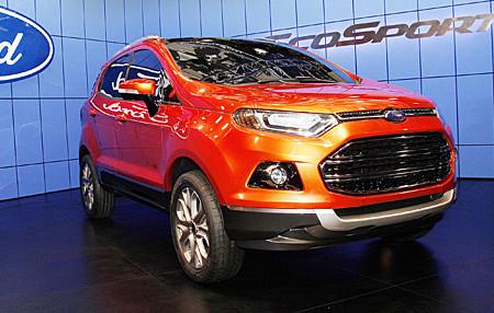 Ford Novo EcoSport, de Brasil para el Mundo