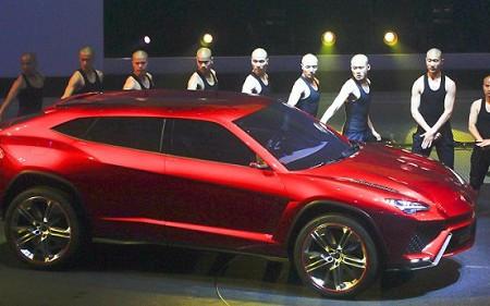 Lamborghini Urus, sorpresa en China