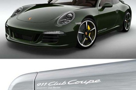 Porsche 911 Club Coupé, un club con solo 13 socios
