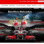 Compartiendo la Fórmula 1 con «Benditos Malvados»