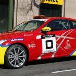 El Infiniti G37 Coupé en el nacional de rallyes